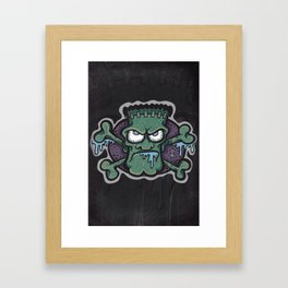 TURN THE CRANK, IT'S TIME FOR FRANK! Framed Art Print