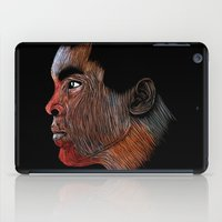 ali gulec iPad Cases featuring Mohamed Ali Color by William