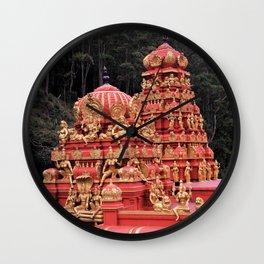 Indian Temple In Sri Lanka Wall Clock