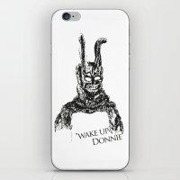 donnie darko iPhone & iPod Skins featuring Donnie Darko by Altay