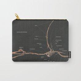 Quetzalcoatlus Northropi Skeletal Study Carry-All Pouch