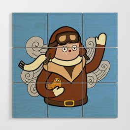 When I grow up I want to be a pilot! Wood Wall Art