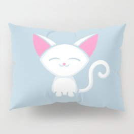 Adorable Kitty Kitten Pillow Sham