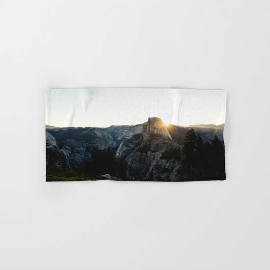 Beautiful Yosemite Hand & Bath Towel