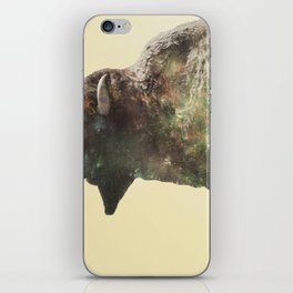 Surreal Buffalo iPhone Skin