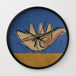 Le Corbusier - La Main Ouverte Wall Clock