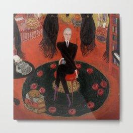"""Florine Stettheimer """"Carl Van Vechten"""" Metal Print"""