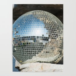 Mirrors discoball Poster