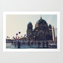 Berlin Points Art Print