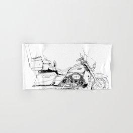 Motorcycle Ultra Classic Electra Glide, street bike, gift for men Hand & Bath Towel