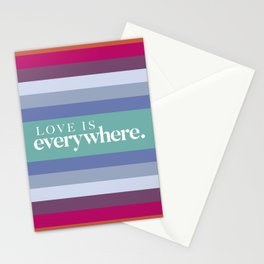 Love is Card Stationery Cards