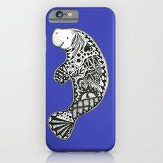 Blue Manatee iPhone 6s Slim Case