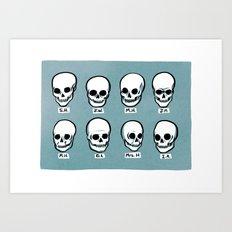 The Great Phrenologist Art Print