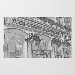 The Crutched Friar Pub London Rug