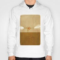 airbender Hoodies featuring Avatar Aang by daniel