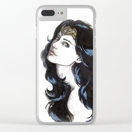 Diana Clear iPhone Case
