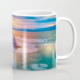 The Strange Ice Circle of Baikal Coffee Mug