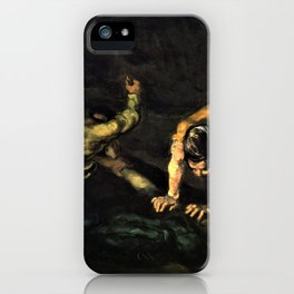 The Murder - Digital Remastered Edition iPhone Case