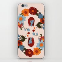 redhead iPhone & iPod Skins featuring Redhead by olivia mew