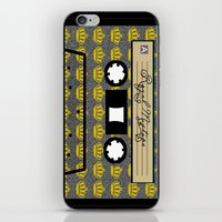 tape iPhone & iPod Skins featuring tape by Jeffrey Bourgeois