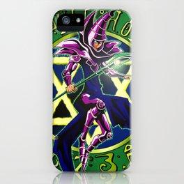 Dark Magician Power Up! iPhone Case