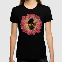 I Am Serius With Flowers T-shirt