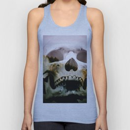 Horror in the woods Unisex Tank Top