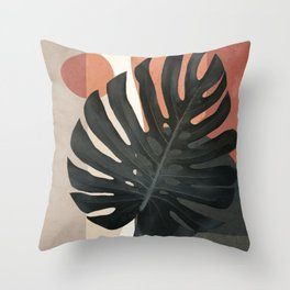 Soft Shapes VIII Throw Pillow