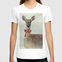 Christmas Deer Holiday Greetings T-shirt
