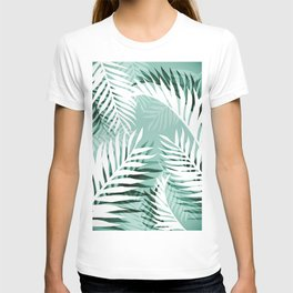 Tropical bliss - jungle green T-shirt