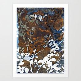 Preppy Jungle Botanical Art Print