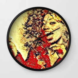 Ebony Joy Wall Clock