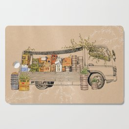 Green Invasion Cutting Board