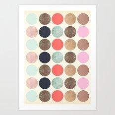 DG Dots - Parisian Art Print