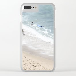 Bathers Clear iPhone Case