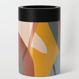 Abstract Art Jungle Can Cooler