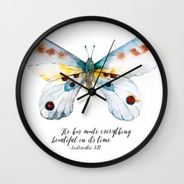 He Has Made All Things Beautiful Wall Clock
