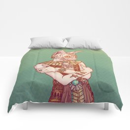 Safiya The Sphynx Cat Comforters