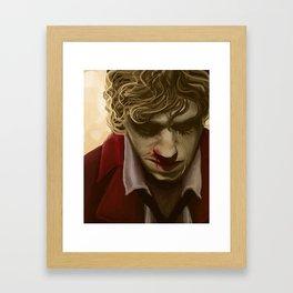 Enjolras Portrait Framed Art Print