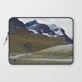 Athabasca Glacier in the Columbia Icefields, Jasper National Park Laptop Sleeve