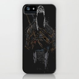 Geralt of Rivia - The Witcher iPhone Case