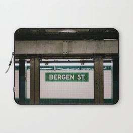 Brooklyn Subway III Laptop Sleeve