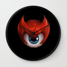 The Eye of Rampage Wall Clock