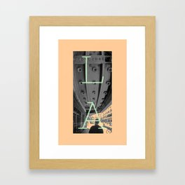 LA THEATRE 2 Framed Art Print