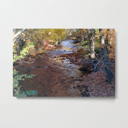 Mill River Metal Print