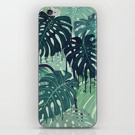 Monstera Melt (in Green) iPhone Skin