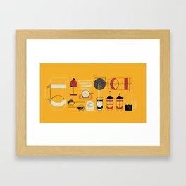 French Press Framed Art Print