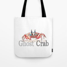 G is for Ghost Crab Tote Bag