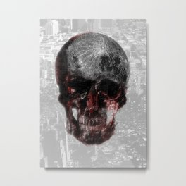 The Death of the Moon Metal Print
