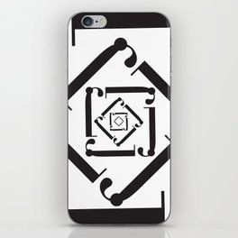 "Dizzy - The Didot ""j"" Project iPhone Skin"